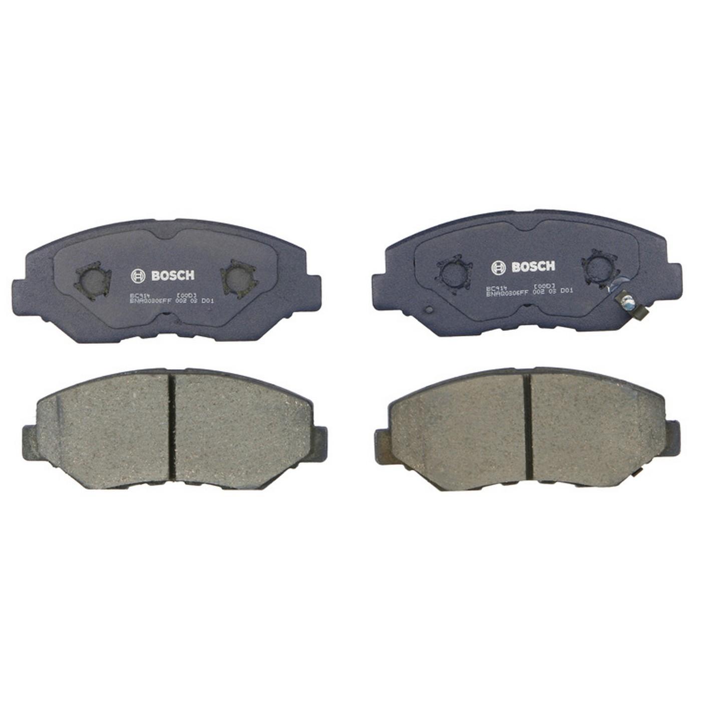 Bosch BC1602 QuietCast Premium Disc Brake Pad Set