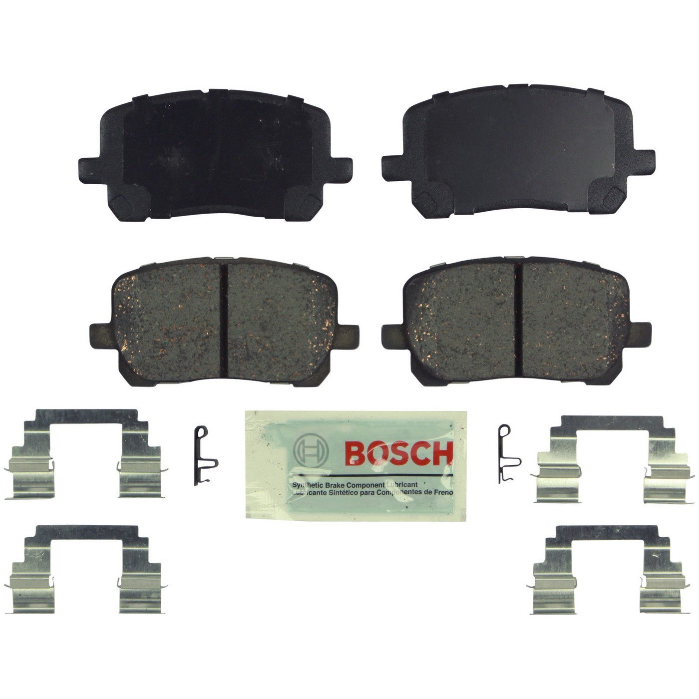 Bosch BE1039H Blue Disc Brake Pad Set with Hardware
